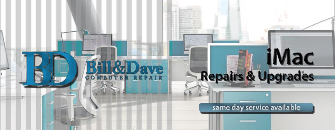 iMac Repair, iMac Upgrades, MacBook Repair same day service available
