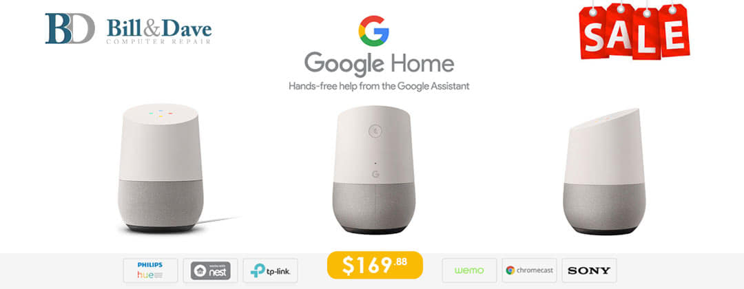 Google Assistant on Sale Bill & Dave Computer Repair, Ottawa