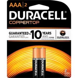Duracell Battery AAA x2
