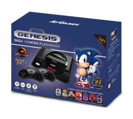 Sega Genesis Flashback HD Retro Console with 85 Installed Games