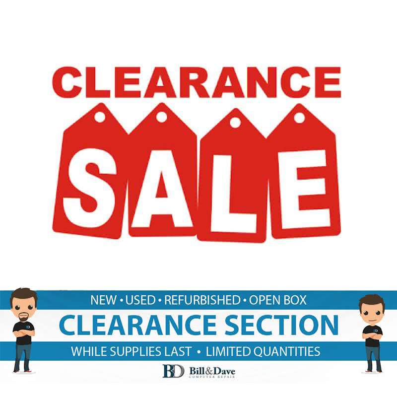 CLEARANCE SECTION - SALE