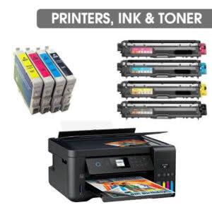 Printers, Ink & Toner