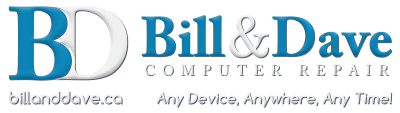 Bill & Dave Computer Repair Inc. | Ottawa, ON | 613.317.1200 Logo
