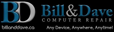 Bill & Dave Computer Repair Inc. | Ottawa, ON | 613.317.1200 Logo