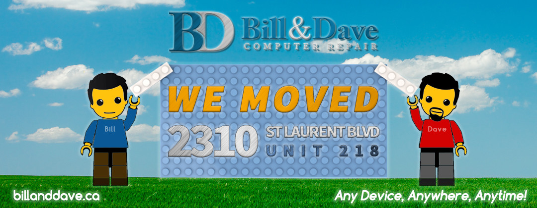 We moved, to 2310 St. Laurent Unit 218